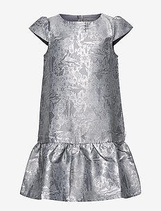 Jacquard Dress Frozen - DOVE
