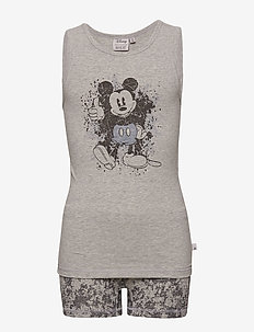 Underwear Mickey - MELANGE GREY