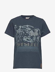 T-Shirt Avengers - kortærmede - midnight navy