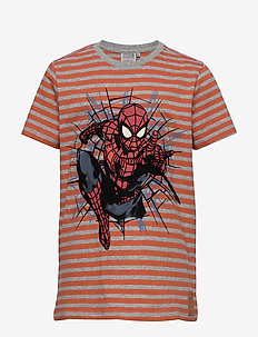 T-Shirt Spider Power - cartoon - wood