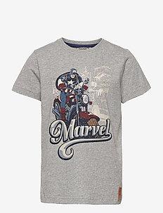 T-Shirt Captain America - t-shirts - melange grey