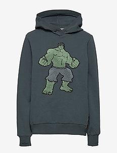 Sweatshirt Hulk Terry - hettegensere - dark petroleum