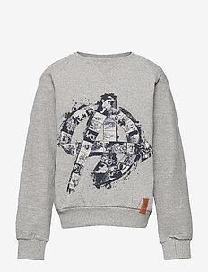 Sweatshirt A - sweatshirts - melange grey
