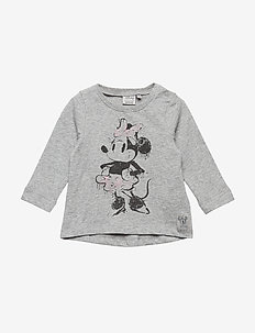 T-Shirt Minnie Ink - cartoon - melange grey
