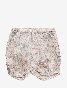 Nappy Pants Ruffles Marie - shorts - powder
