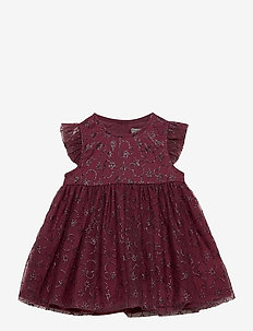 Tulle Dress Mickey X-mas - dresses - mickey burgundy