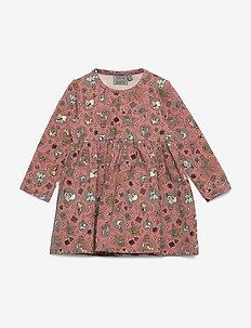 Jersey Dress Disney X-Mas - kleider - soft rouge