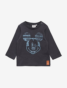 T-Shirt Mickey Stripe - MIDNIGHT BLUE