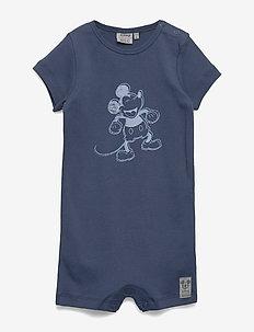 Jumpsuit Happy Mickey SS - INDIGO