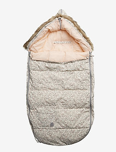 Down Sleeping bag Bambi - coucher - pale rose
