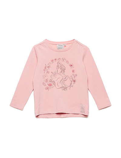 T-Shirt Sleeping Beauty Flowers - BLUSH