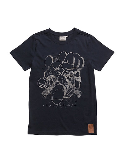 T-Shirt Mickey Angry - NAVY