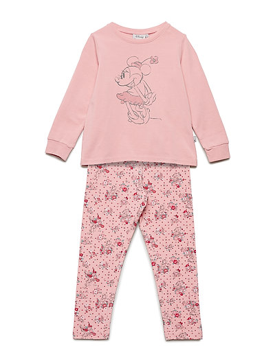 Girl Pyjamas Minnie - BLUSH