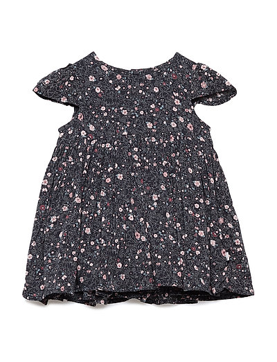 Dress Minnie Flower - MIDNIGHT BLUE