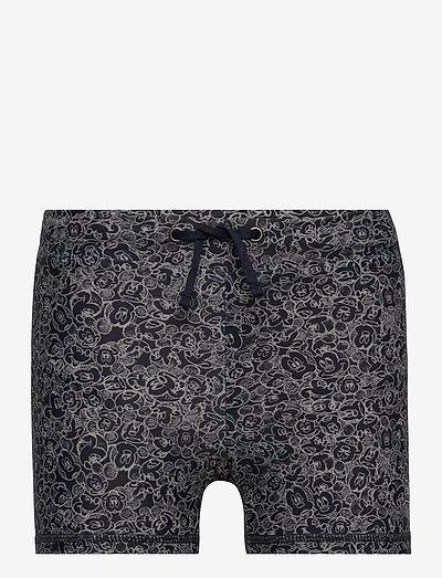 Swim Shorts String Mickey - badehosen - dark blue