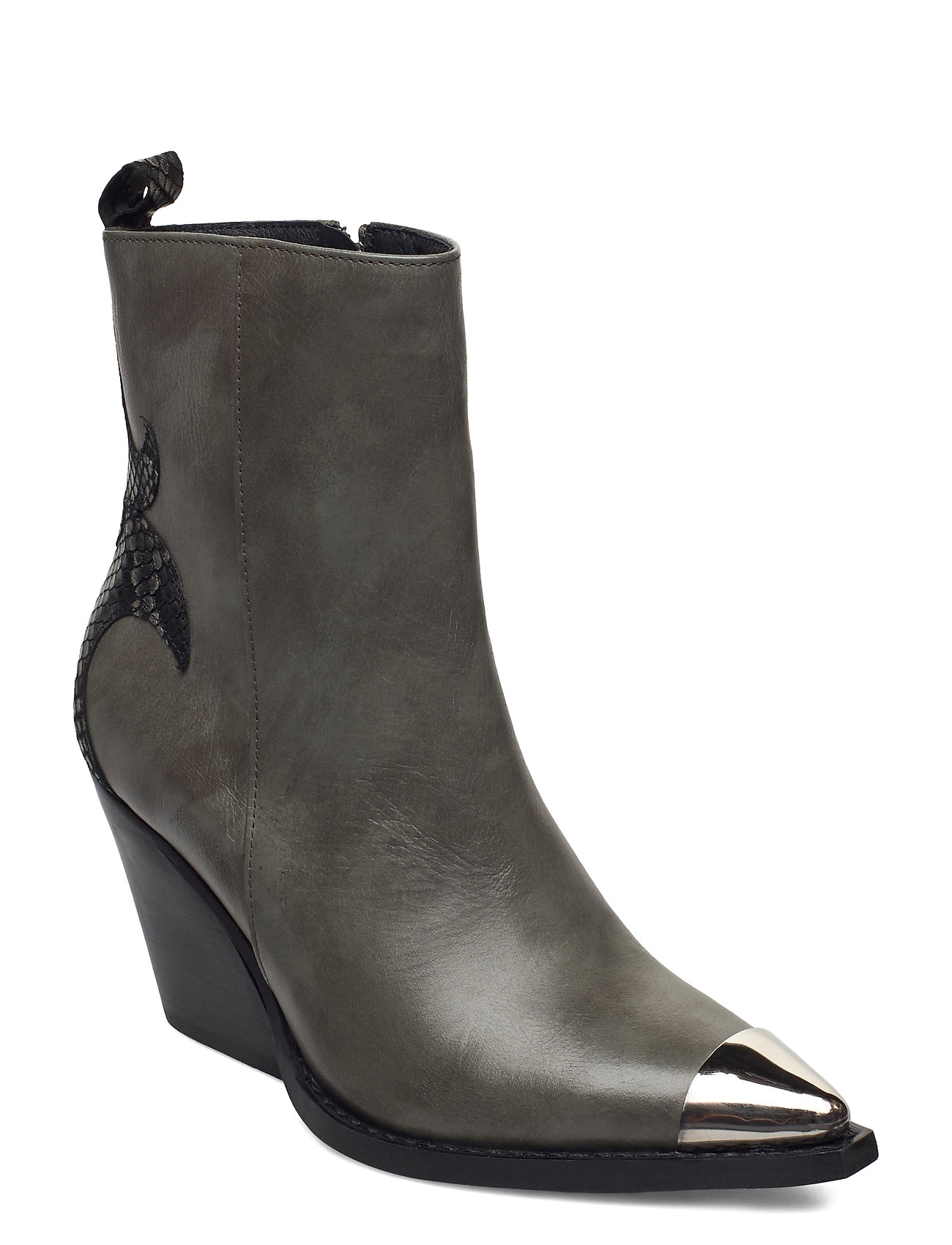 Image of Hasna Shoes Boots Ankle Boots Ankle Boot - Heel Grøn RE:DESIGNED EST 2003 (3463423765)