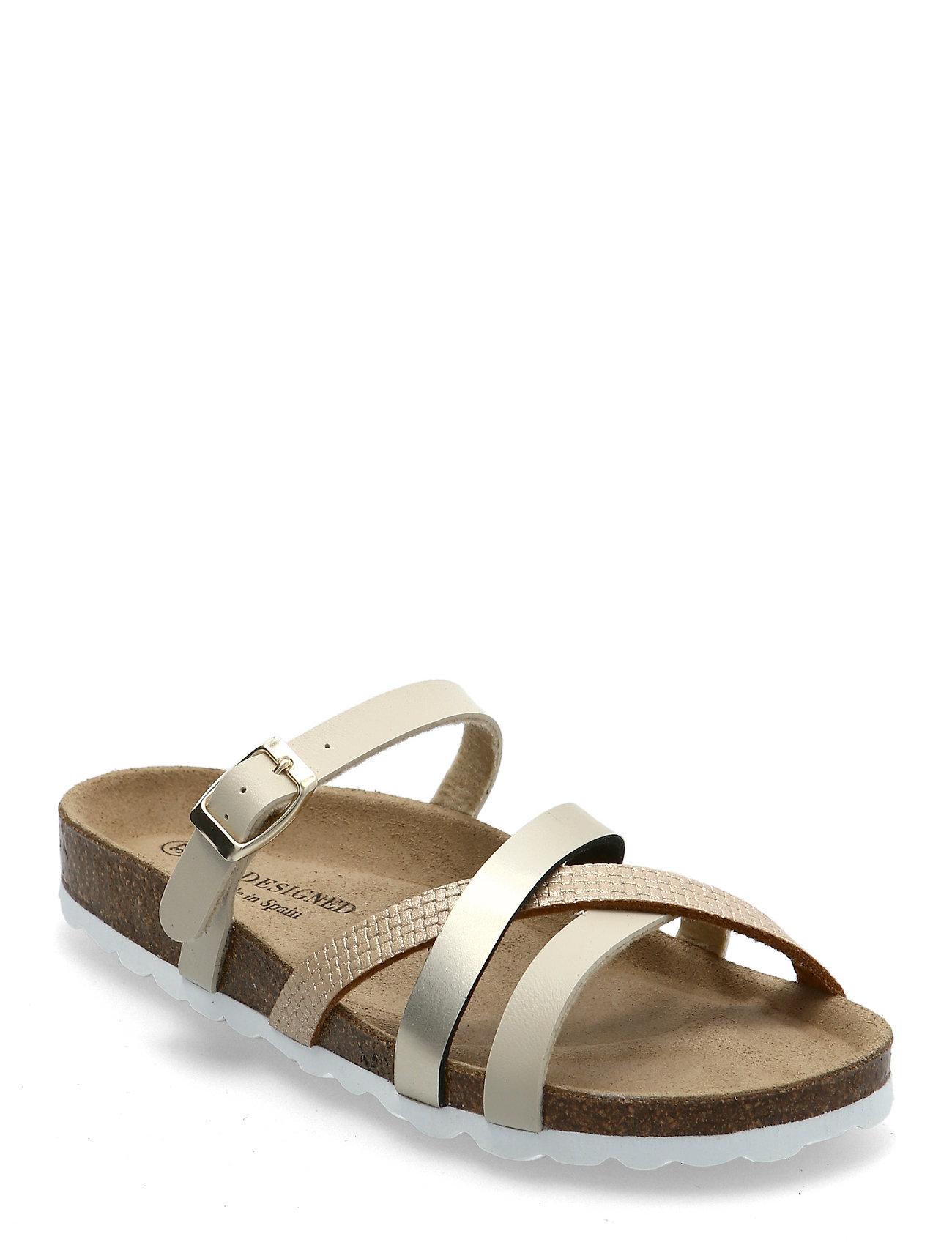 Image of Eshita21 Shoes Summer Shoes Flat Sandals Guld RE:DESIGNED EST 2003 (3515473667)