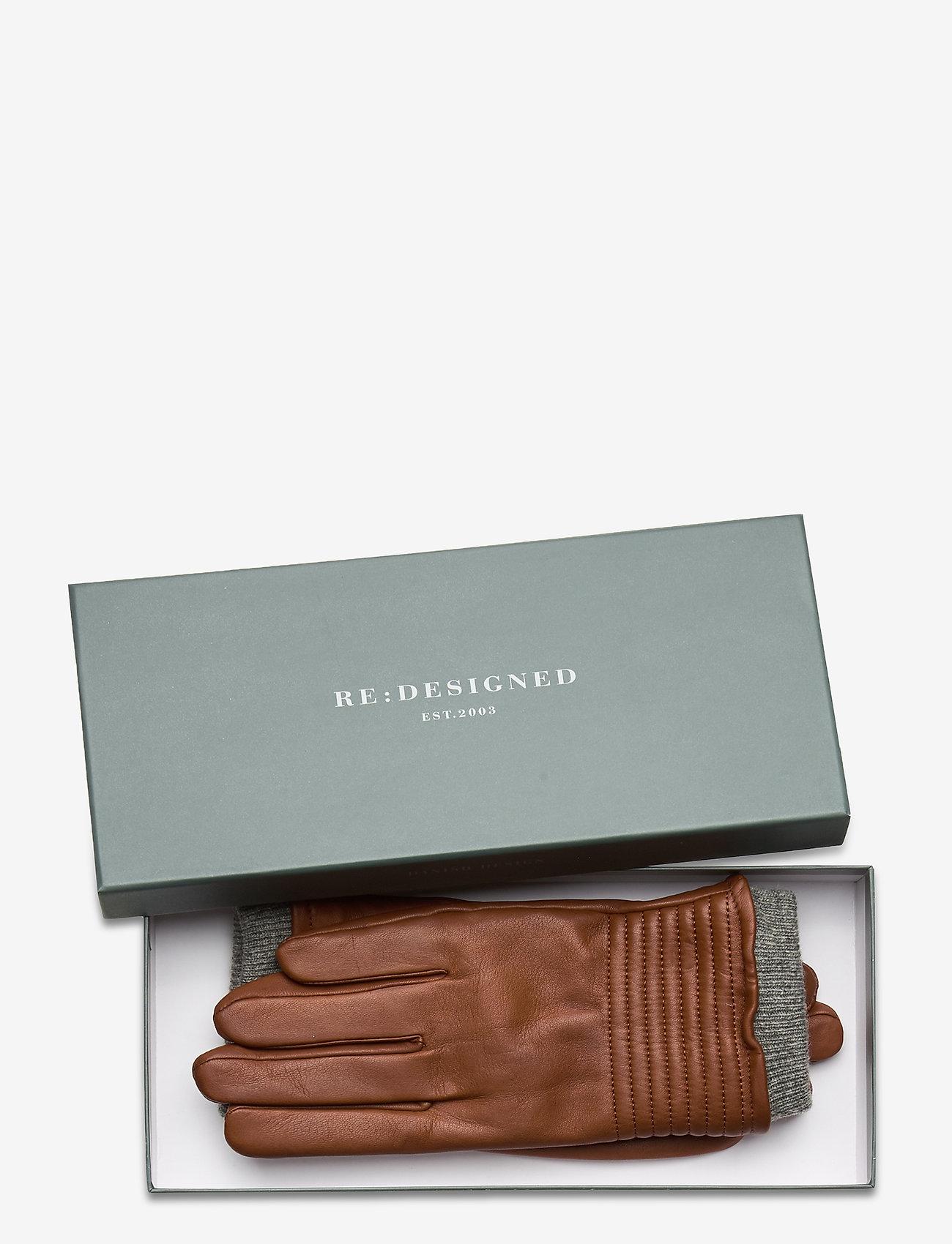 RE:DESIGNED EST 2003 - Sheila - handschoenen - cognac - 1