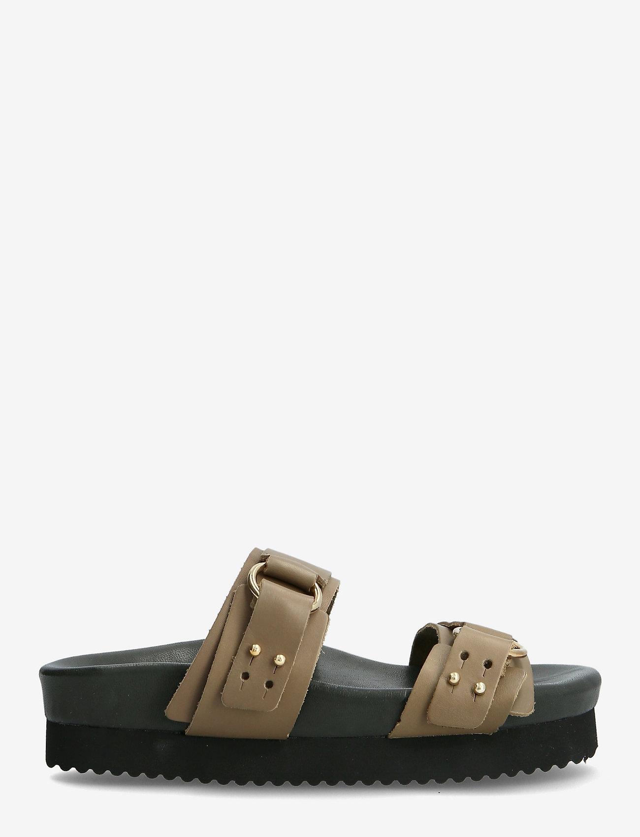 RE:DESIGNED EST 2003 - Calinas - platta sandaler - khaki - 1