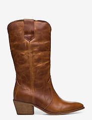 RE:DESIGNED EST 2003 - Rylee - ankle boots with heel - cognac - 1