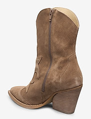 RE:DESIGNED EST 2003 - Remsy Suede - ankle boots with heel - taupe - 2