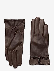 Alena - handschoenen - dark brown