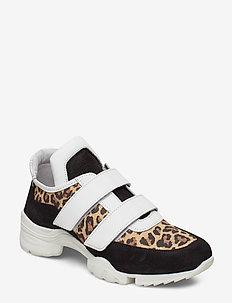 Alys - baskets épaisses - leopard