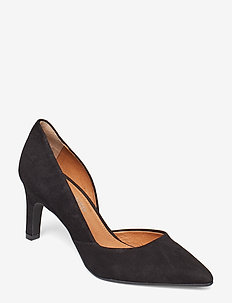 Salana Suede - klassiske pumps - black