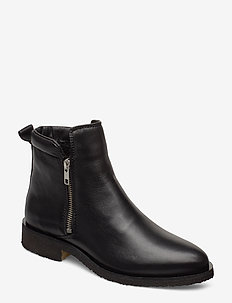 Shanna - flat ankle boots - black