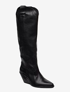 Darla - long boots - black