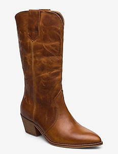 Rylee - ankle boots with heel - cognac