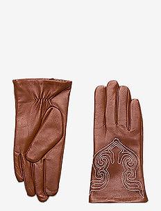 Bran - handschoenen - cognac