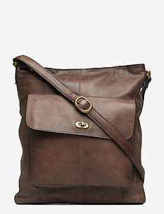 1656 - shoulder bags - dark brown