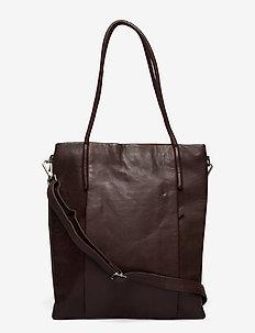 Mola - handväskor - dark brown