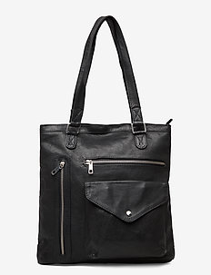 Agata - shoppers - black