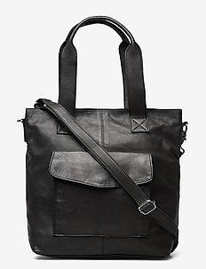 Menna - handbags - black