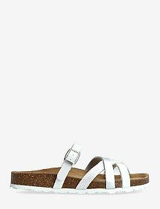 Eshita21 - platta sandaler - white