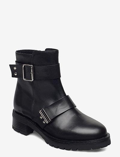Fianna - platta ankelboots - black