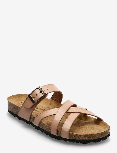 Bala - platta sandaler - rose