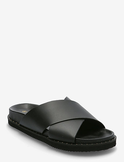 Cana - platta sandaler - black