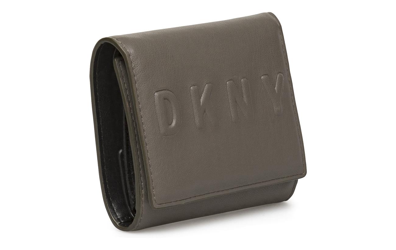 Stone Intérieure Polyvinyl Tilly 100 Wallet Dkny Équipement Polyurethane Doublure Bags Trifold nx0YWHHwIz