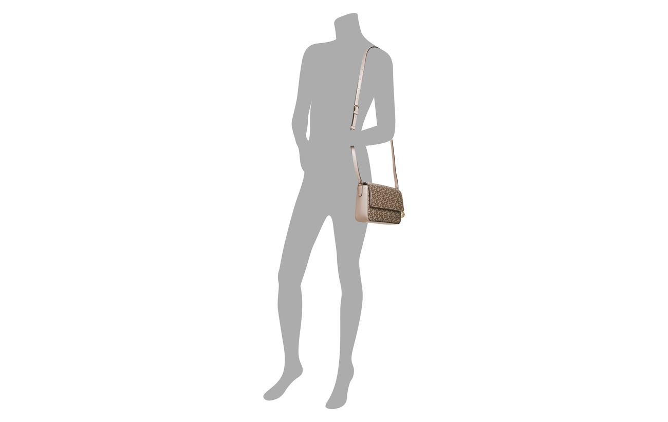 Blush Bordure Chino Équipement Dkny Xbody iconic Bryant Polyvinyl Logo Détails md Intérieure 100 Doublure Bags Flap Polyurethane wUax8XUqv