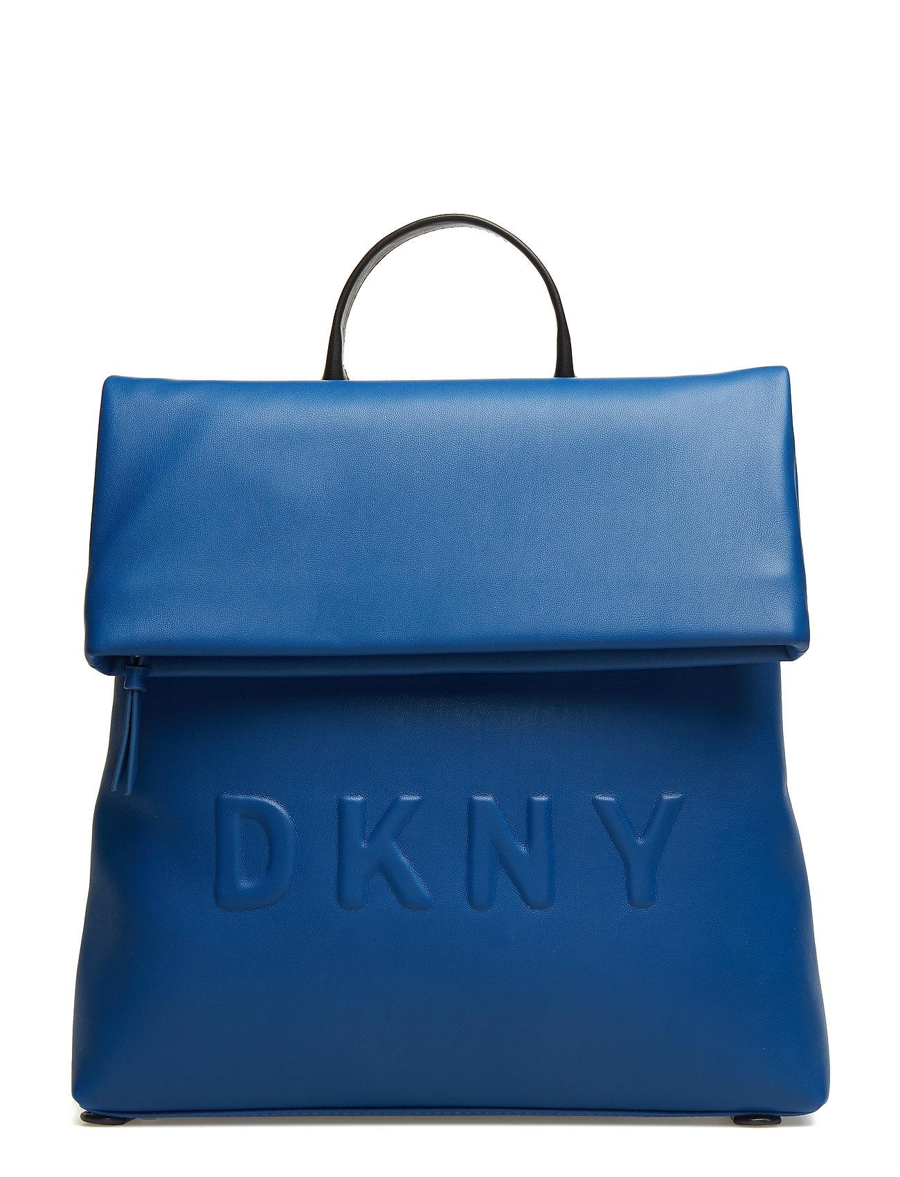 DKNY Tilly- Md Backpack Rucksack Tasche Blau DKNY BAGS