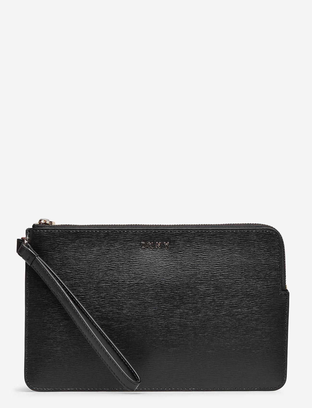 DKNY Bags - BRYANT-WRISTLET POUC - clutches - blk/gold - 0
