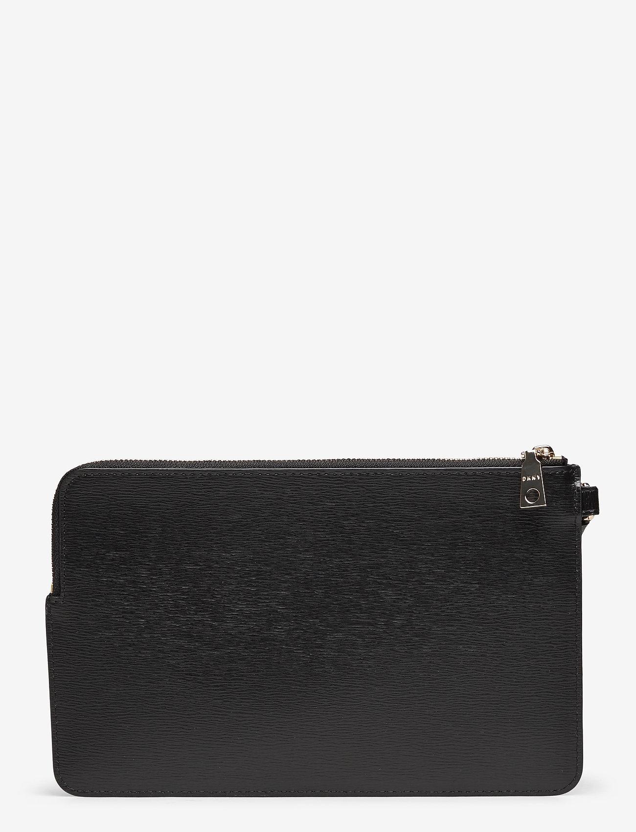 DKNY Bags - BRYANT-WRISTLET POUC - clutches - blk/gold - 1