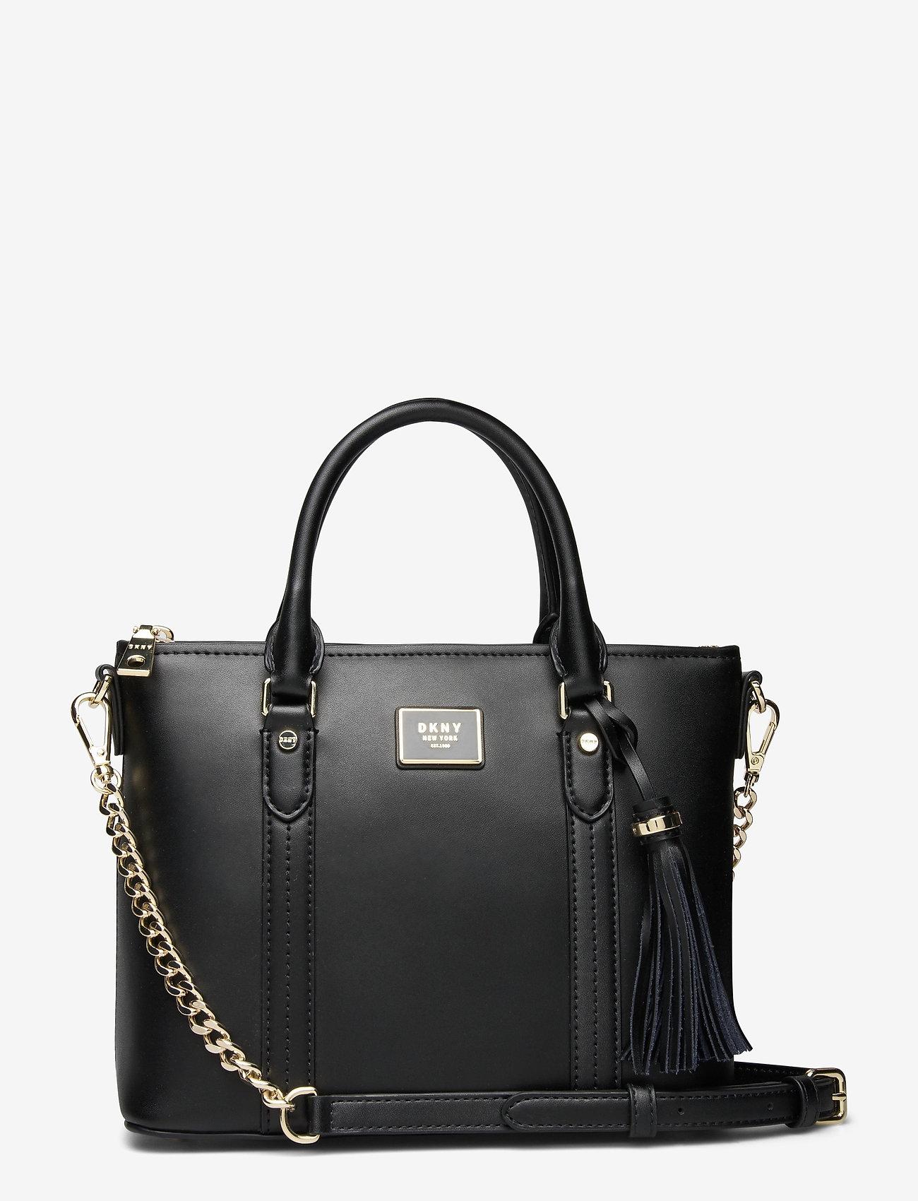 DKNY Bags - AALTA MD TOTE - handväskor - blk/gold - 0