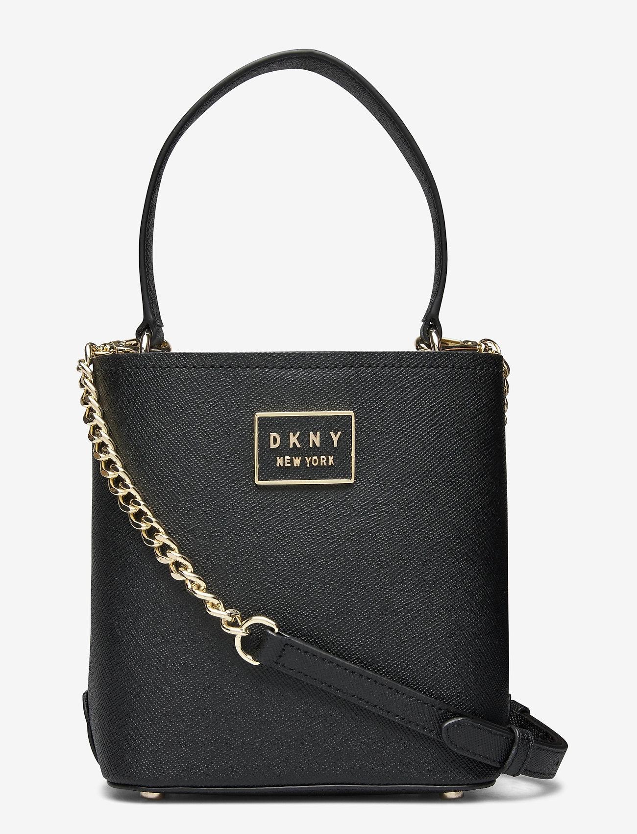 DKNY Bags - BIANCA BUCKET - bucket-laukut - blk/gold - 0