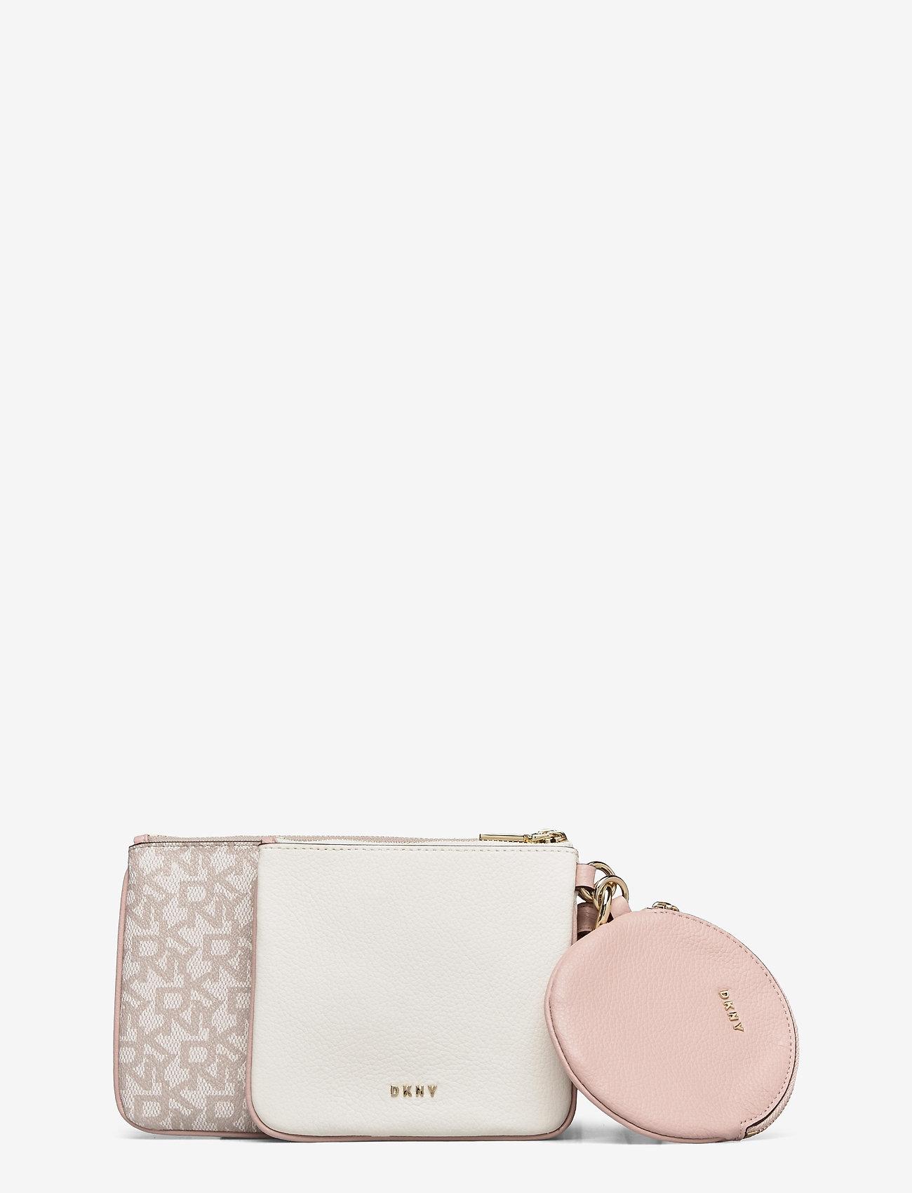 DKNY Bags - TRIPLE POUCH - kirjekuorilaukut - cashmere cmb - 0