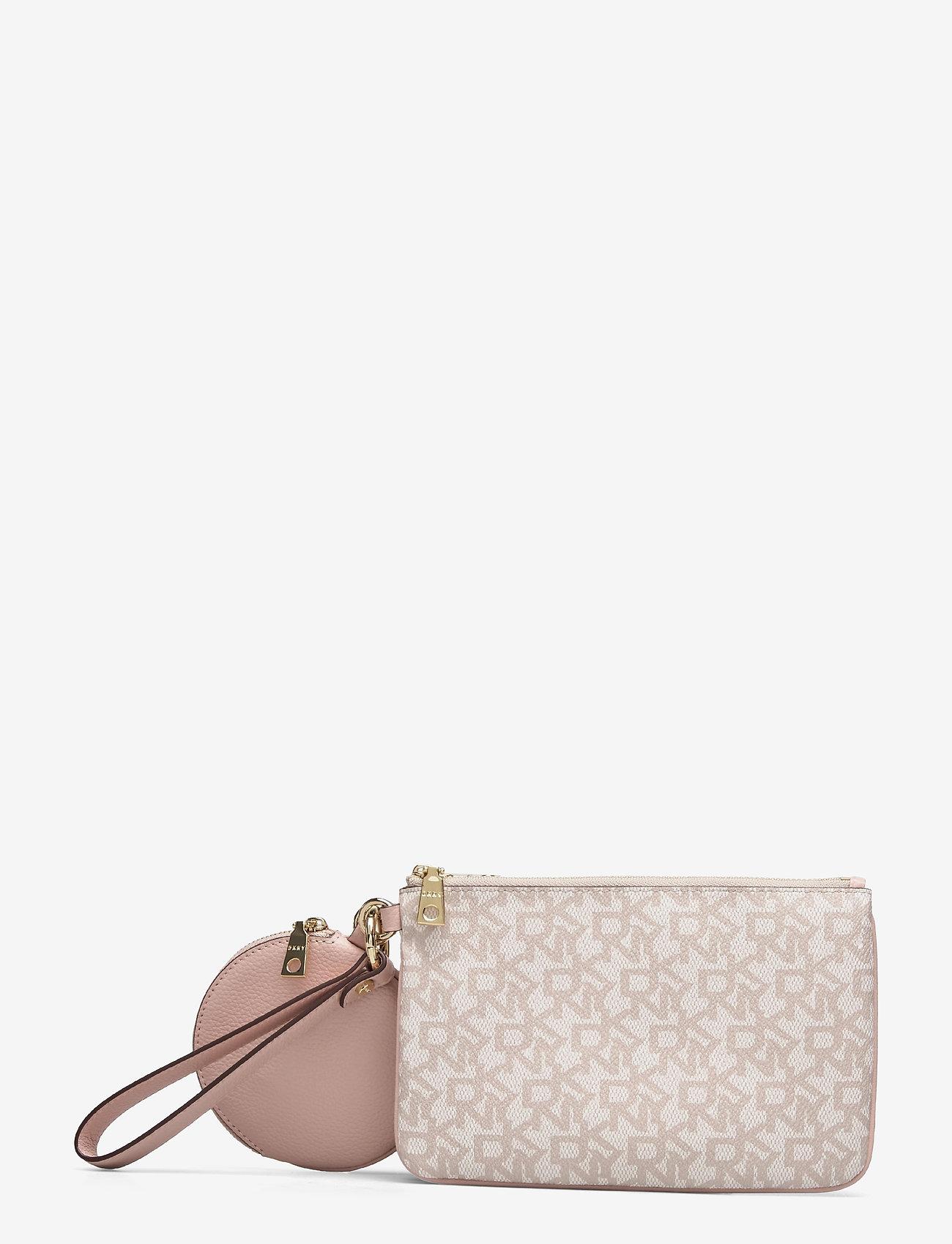 DKNY Bags - TRIPLE POUCH - kirjekuorilaukut - cashmere cmb - 1