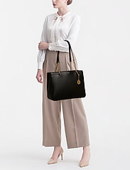 DKNY Bags - BRYANT LG SHPPR TOTE - fashion shoppers - blk/gold - 1